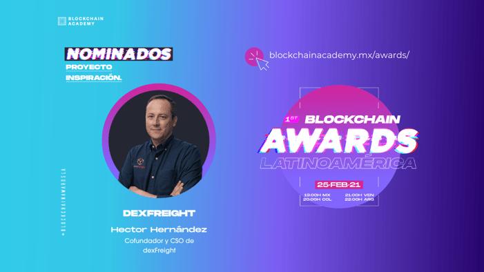 dexfreight blockchain awards