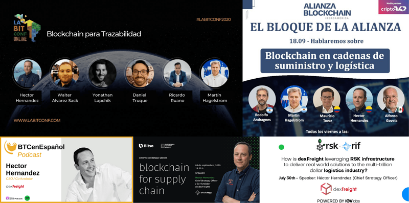 dexfreight spreading the word about blockchain (1)-1