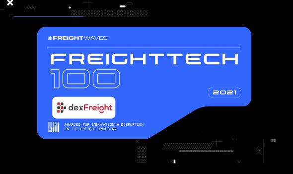freight tech dexfreight100 2021
